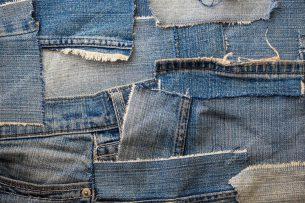 Ганчір'я джинсове